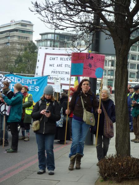 Anti Trident Rally London 2015